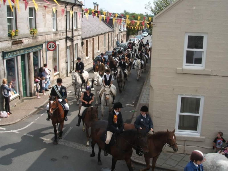 The annual Riding of the Marches