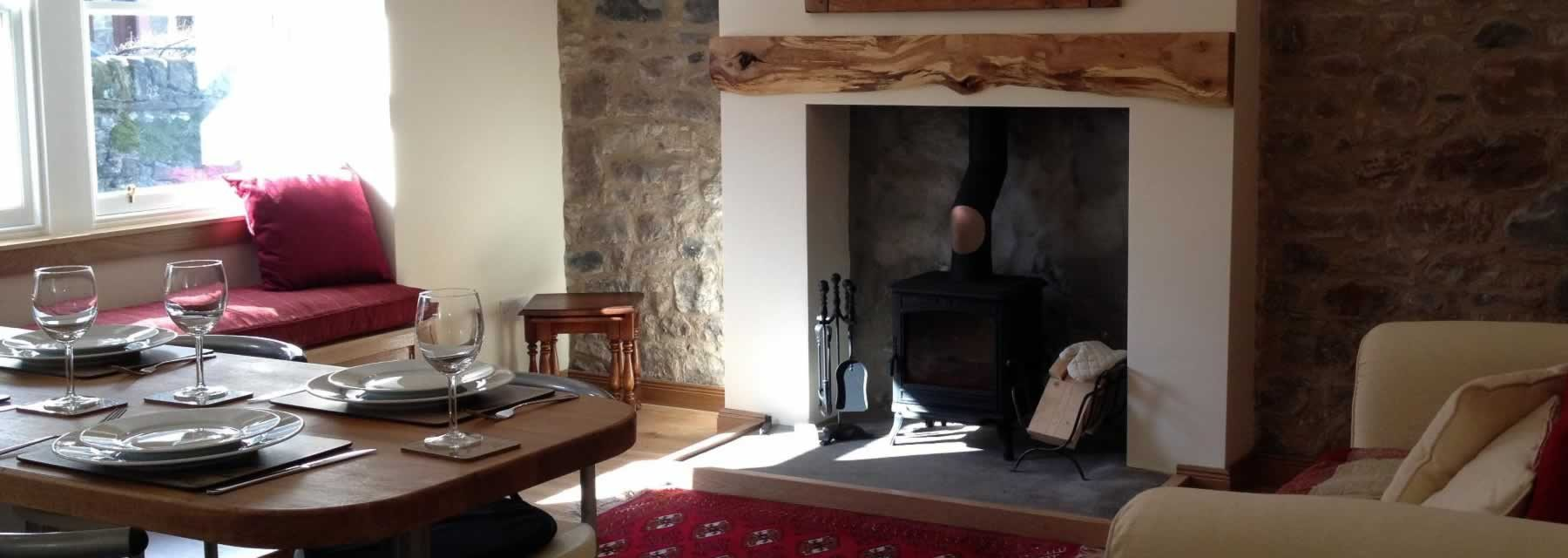 Gartmore interior holiday let property